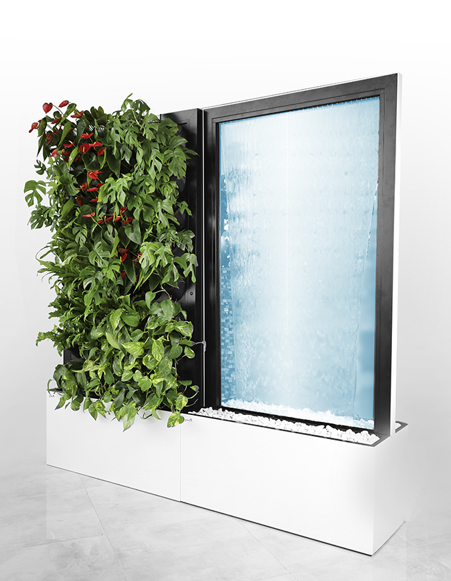 water wall green module